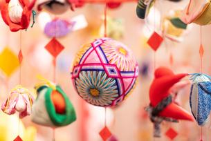 柳川の雛祭の飾り さげもんの写真の写真素材 [FYI04599570]