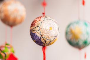 柳川の雛祭の飾り さげもんの写真の写真素材 [FYI04599571]