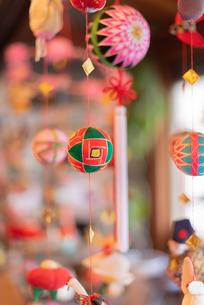 柳川の雛祭の飾り さげもんの写真の写真素材 [FYI04599573]