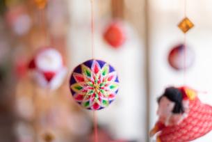柳川の雛祭の飾り さげもんの写真の写真素材 [FYI04599577]