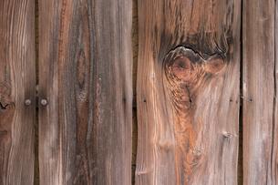 木製の壁の写真素材 [FYI04599592]