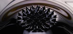 磁性流体の表現の写真素材 [FYI04600104]