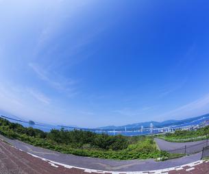北海道 風景 祝津公園より室蘭港遠望 の写真素材 [FYI04600272]
