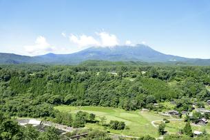 開田高原からの御嶽山の写真素材 [FYI04600901]