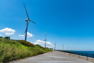 北九州市の風車の写真素材 [FYI04601000]