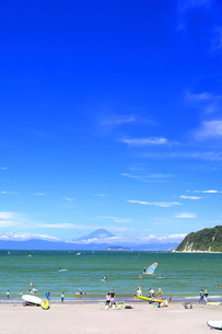 2020年 夏の湘南海岸の写真素材 [FYI04601046]