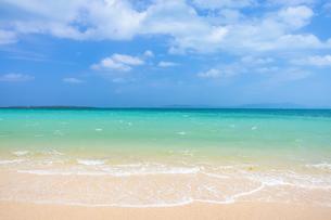 小浜島・トゥマールビーチの写真素材 [FYI04601314]