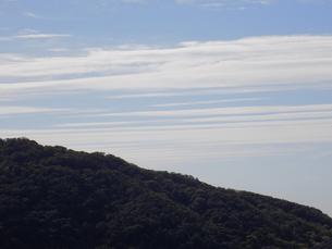 波状雲 巻層雲 地震雲 undulatus Roll clouds Earthquake cloudの写真素材 [FYI04601316]