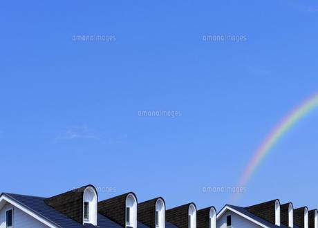 集合住宅のドーム型の天窓の写真素材 [FYI04601502]