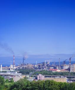北海道 風景 潮見公園より室蘭市街遠望 (昼景)の写真素材 [FYI04601523]
