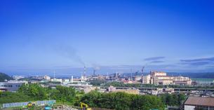 北海道 風景 潮見公園より室蘭市街遠望 (昼景)の写真素材 [FYI04601525]