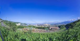 北海道 風景 潮見公園より室蘭市街遠望 (昼景)の写真素材 [FYI04601526]