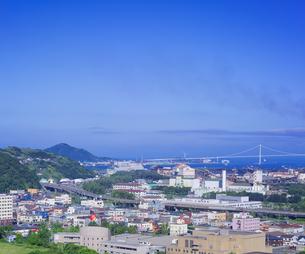 北海道 風景 潮見公園より室蘭市街遠望 (昼景)の写真素材 [FYI04601530]