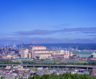 北海道 風景 潮見公園より室蘭市街遠望 (昼景)の写真素材 [FYI04601532]