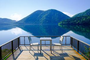 然別湖の写真素材 [FYI04601941]
