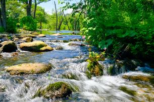 川の流れの写真素材 [FYI04601943]