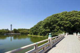 茶臼山と通天閣の写真素材 [FYI04602336]