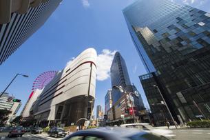 大阪梅田の都市風景の写真素材 [FYI04602371]