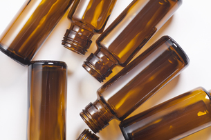 栄養ドリンク剤の空き瓶の写真素材 [FYI04602406]