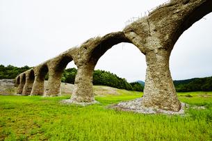 タウシュベツ川橋梁/上士幌の写真素材 [FYI04602413]
