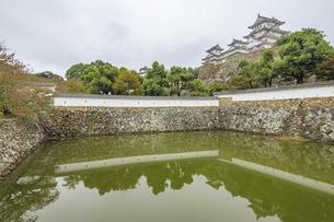 姫路城 兵庫県姫路市の写真素材 [FYI04603125]