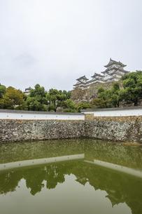 姫路城 兵庫県姫路市の写真素材 [FYI04603127]