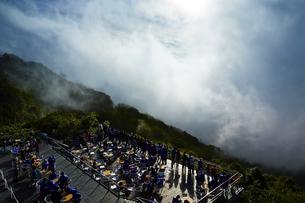 雲海テラス/星野リゾートトマムの写真素材 [FYI04603208]