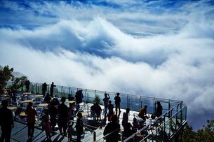 雲海テラス/星野リゾートトマムの写真素材 [FYI04603216]