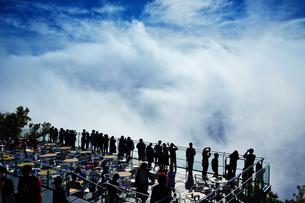 雲海テラス/星野リゾートトマムの写真素材 [FYI04603217]