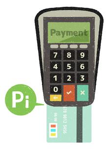 クレジットカード決済のイラスト素材 [FYI04603245]