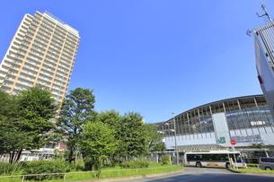 武蔵小金井駅南口の写真素材 [FYI04603383]
