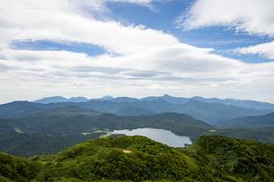 燧ケ岳から尾瀬沼の写真素材 [FYI04603619]