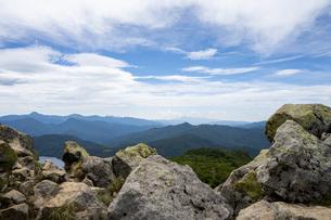 燧ケ岳からの景色の写真素材 [FYI04603620]