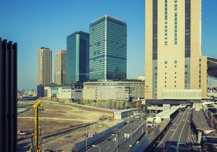 グランフロント大阪とうめきた2期開発区域の写真素材 [FYI04603636]