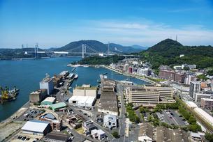門司港レトロ展望室からの眺望の写真素材 [FYI04603901]