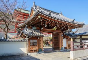 関西の神社仏閣 西宮市 門戸厄神の写真素材 [FYI04603939]