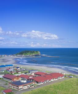 北海道 風景 潮見公園よりイタンキ浜遠望の写真素材 [FYI04603991]