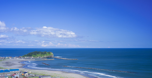 北海道 自然 風景 海岸線と水平線の写真素材 [FYI04603993]