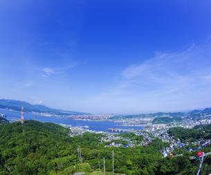 北海道 風景 測量山より室蘭市街遠望 の写真素材 [FYI04604035]