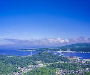北海道 風景 測量山より室蘭市街遠望 の写真素材 [FYI04604040]