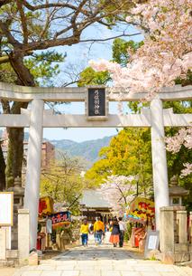 関西の神社仏閣 神戸市 弓弦羽神社の写真素材 [FYI04604540]
