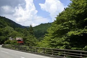 森林鉄道跡の写真素材 [FYI04605278]