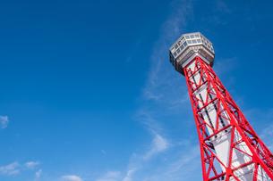 博多ポートタワーの写真素材 [FYI04605419]