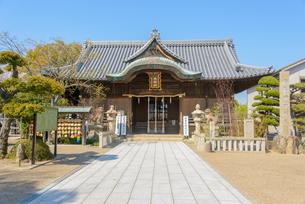 関西の神社仏閣 明石市 柿本神社の写真素材 [FYI04605424]
