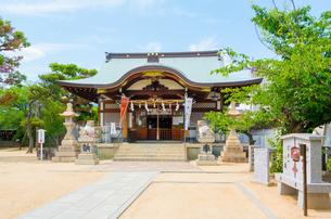 関西の神社仏閣 芦屋市 打出天神社の写真素材 [FYI04605426]