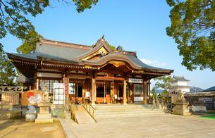 関西の神社仏閣 赤穂市 大石神社の写真素材 [FYI04605430]