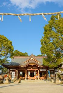 関西の神社仏閣 赤穂市 大石神社の写真素材 [FYI04605431]