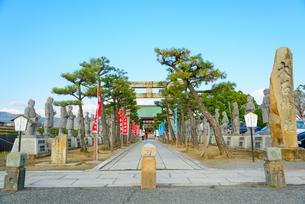 関西の神社仏閣 赤穂市 大石神社の写真素材 [FYI04605434]