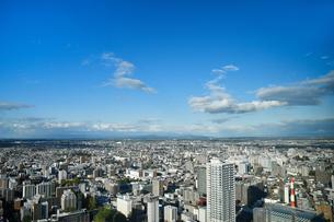 札幌の市街地の写真素材 [FYI04605437]
