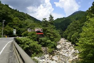 森林鉄道跡の写真素材 [FYI04605467]